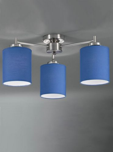 Franklite FL2315/3/1154 Satin Nickel Ceiling Light